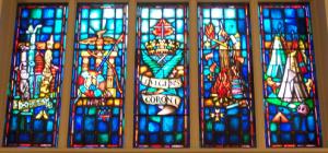 Bottom section of window